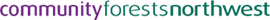 Community Forests North West logo